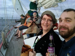 Schooner Woodwind in Annapolis hosts histpry sails on Mondays