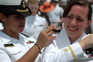 2015 USNA Graduation and Commissioning