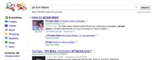 Pit Bull attacks