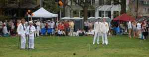 You Can Tell It Is Spring When Croquet Is In The Air