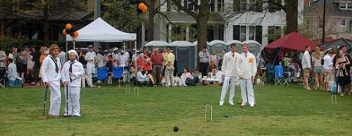 Croquet returns to St. John's College on April 12th