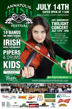 So, Who's Playing At The Annapolis Irish Festival?