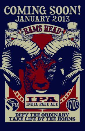Rams Head IPA Is Coming