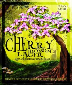 Cherry Lager Label