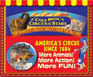 Optimists bringing Cole Brothers Circus to town