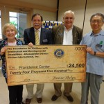 Civitans Present $24K To Providence Center