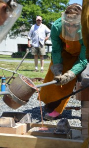 The Chesapeake Bay Maritime Museum is hosting a bronze casting demonstration on July 12 and a four-day bronze casting workshop July 18 to 21. Programs will take place in the boat yard, with space limited and pre-registration needed by calling 410-745-4941. These programs are funded in part by a grant from the Talbot County Arts Council, with revenues provided by the Maryland State Arts Council, Talbot County, and the Towns of Easton and Oxford.