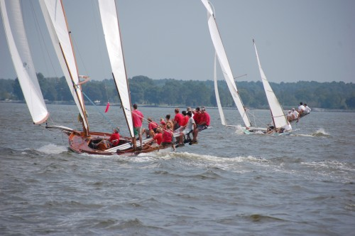 Watch log canoes on the Miles River from the Chesapeake Bay Maritime Museum's replica buyboat, Mister Jim on Saturday June 29. The cruise departs from the museum at 1pm, with space limited and advanced registration needed. To register or for more information, call 410-745-4941.