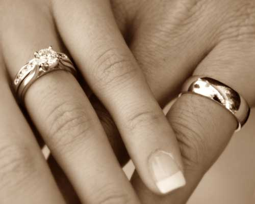 Images Of Hands With Wedding Rings