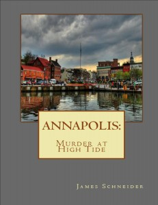 Front Cover Annapolis Murder at High Tide for promotion
