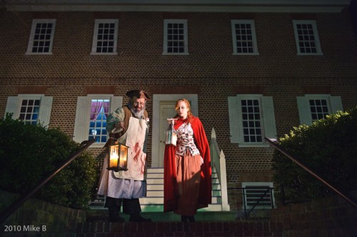 Did you know Annapolis is full of haunted tales? Learn the story of the Paca house's sick room and step inside – if you dare – on this ghost tour.