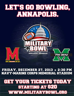 Important Military Bowl Information