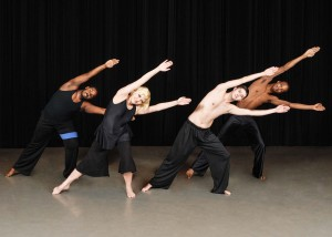 """Dancers in Anne Arundel Community College's AACC Dance Company strike a pose in the full-company piece, """"Kitchen Sink,"""" choreographed by company artistic director Lynda P. Fitzgerald, one of several pieces featured in the company's performances at 8 p.m. Thursday-Saturday, Dec. 5, 6 and 7, in the Robert E. Kauffman Theater of the Pascal Center for Performing Arts on the Arnold campus, 101 College Parkway. This is the company's 25th anniversary. Tickets are on sale at the box office, 410-777-2457 or at boxoffice@aacc.edu."""