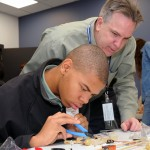 Annapolis High Students Learn About Electronics Thanks to Northrop Grumman STEM Initiative
