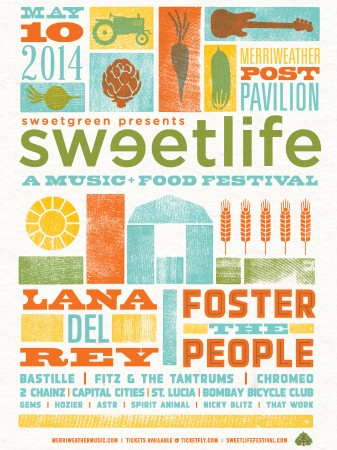 sweet life festival sold out–but here's the food