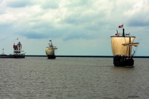 The Pinta (left) and Niña (right) will be docked in St. Michaels, MD at the Chesapeake Bay Maritime Museum from May 10 through the 18th, with on-board tours available. The Niña is an exact replica ship on which Columbus sailed across the Atlantic on his three voyages of discovery to the new world. The Pinta was built 15 feet longer and eight feet wider than the original to accommodate more people, and to be used for dockside charters and events. For more information, visit www.thenina.com or www.cbmm.org.