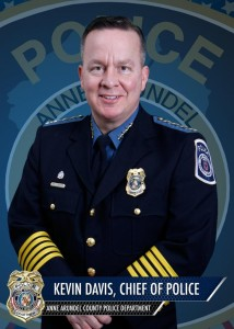 Anne Arundel County Chief of Police Kevin Davis