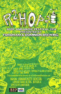 Tickets still available for R2Hop2 Festival this weekend