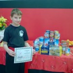 Jing Ying donates $5K & 500 pounds of food to SPAN
