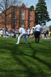 Costumes, dancing, picnics, and… Croquet!