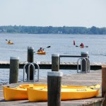 Miles River paddling program at CBMM (July 24, 2014)
