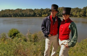 """On Friday, July 11, the Chesapeake Bay Maritime Museum (CBMM) in St. Michaels, MD welcomes historians Matthew and Juliann Krogh, shown here, to present two living history programs exploring the highlights and challenges sailors faced during the War of 1812. Taking place in the museum's Van Lennep Auditorium from 10 a.m. to 12:30 p.m. is the """"It's a Sailor's Life for Me!"""" family program, and from 5 p.m. to 7:30 p.m. the museum presents """"Marlinspike Sailors and Courageous Cuttermen: American Mariners in the War of 1812."""" Both programs have limited seating, with advanced registration needed. To register or for more information, call 410-745-4941."""