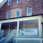 HERE a pop-up shop lands at the Charles Carroll House