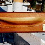 Build a half-hull model at CBMM November 8, 9