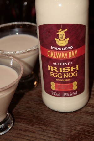 Time's running out for a bottle of Galway Bay's egg nog!