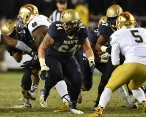 Jake Zuzek in action (Photo: Navy Athletics)
