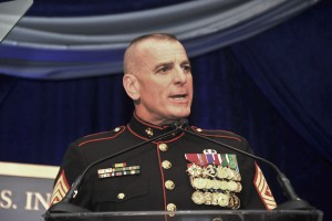 Sergeant Major Bryan B. Battaglia, the Senior Enlisted Advisor to the Chairman of the Joint Chiefs of Staff