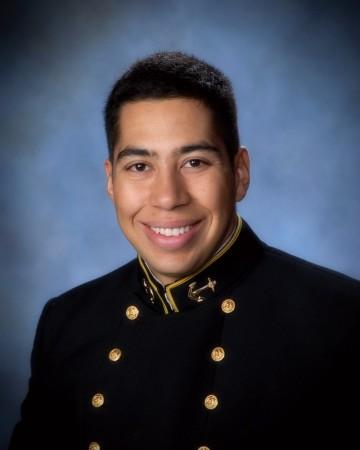 MIDN 2nd Class Rolando Amador, 16th Company