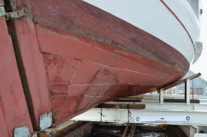 The 1889 bugeye Edna E. Lockwood, the queen of the fleet at the Chesapeake Bay Maritime Museum, is being prepared for a major restoration, which will begin in late 2015. Watch a video at www.bit.ly/Edna_NPS.