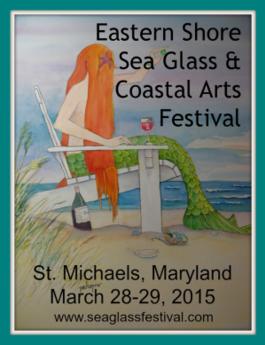 2015 Eastern Shore Sea Glass and Coastal Arts Festival logo
