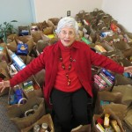 Ginger Cove conducts food drive