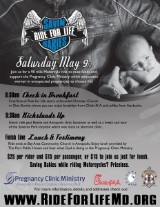 Ride for Life flyer