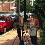 International outdoor painting competition heats up tonight