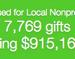 Nearly $1M raised in 24 hours by the Great Give