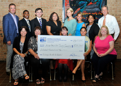 United Way Central MD donates $500K to Anne Arundel Charities