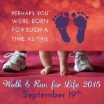 Walk and Run for Life 5K – September 19th