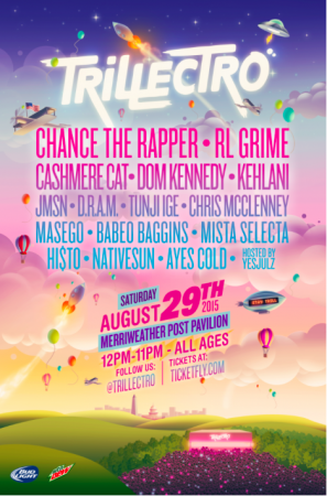 Trillectro here this weekend! Save 20% with our code
