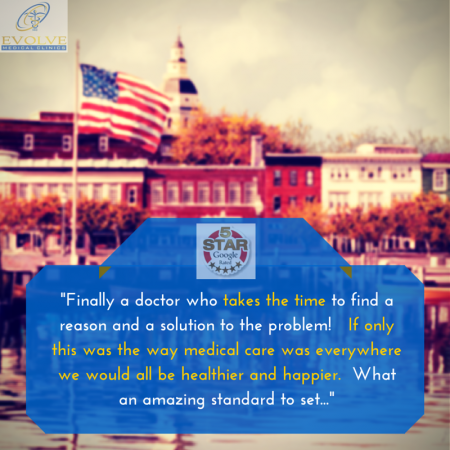 Evolve Medical Clinics is Annapolis' Highest Rated Primary and Urgent Care