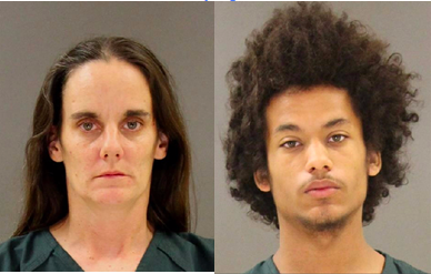 Ann Anastasi (l), Gabriel Struss (r), along with Anastasi's 13 year old daughter, have been charged in the murders of  Anthony Anastasi, Jr., and Jacquelyn I Riggs in Lothian.
