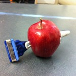 Razor blades in apples are actually very rare.
