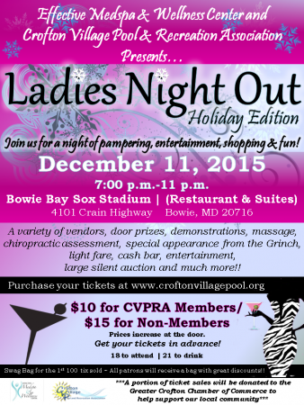 Ladies Night Out Holiday Edition