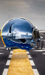 Players will wear different ships on their helmets based on their position.