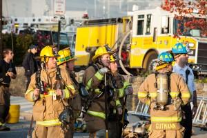 Annapolis Yacht Club fire 12-12-15  Photos by: Glenn A. Miller