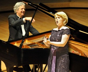 The talents of pianist Brian Ganz and soprano Iwona Sobotka will come together at the Unitarian Universalist Church of Annapolis to perform Chopin's rarely heard songs and more on January 5 at 8PM.  Photo credit:  Jay Mallin & Laurie Hayes