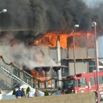 3-Alarm fire ravaging Annapolis Yacht Club
