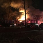 Glen Burnie fire destroys home, business Friday morning